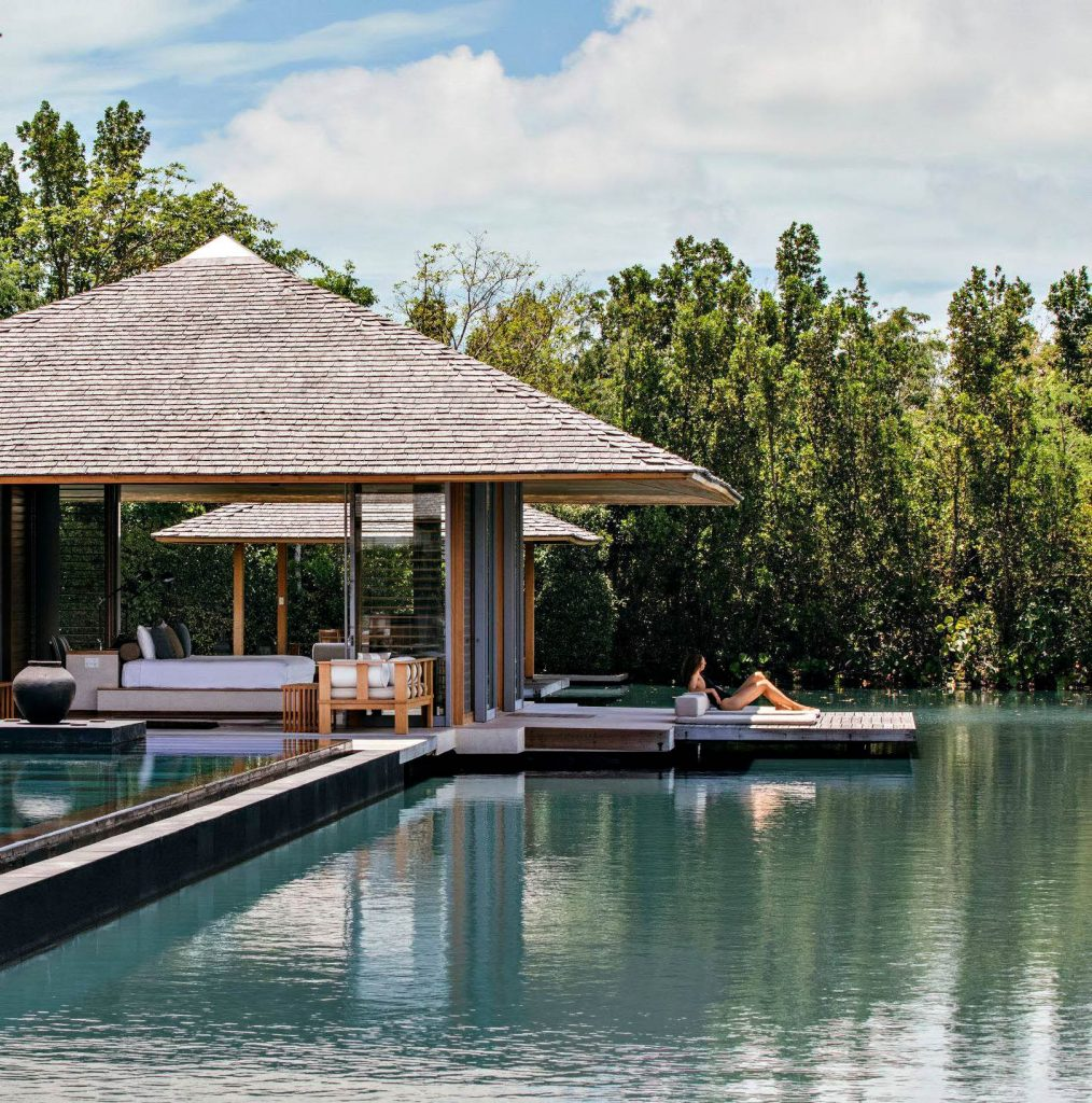 Amanyara Luxury Resort - Providenciales, Turks and Caicos Islands - Poolside Relaxation