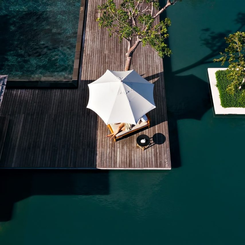 Amanyara Luxury Resort - Providenciales, Turks and Caicos Islands - Poolside Tranquility