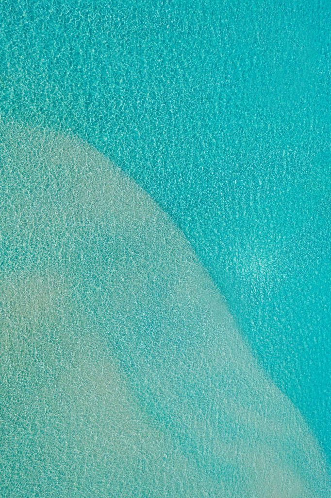 Soneva Jani Luxury Resort - Noonu Atoll, Medhufaru, Maldives - Tropical Ocean Water Aerial