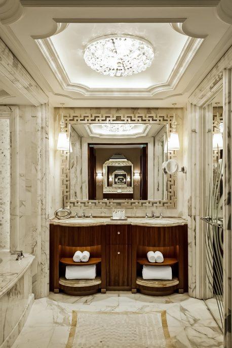The St. Regis Abu Dhabi Luxury Hotel - Abu Dhabi, United Arab Emirates - Luxury Guest Bathroom