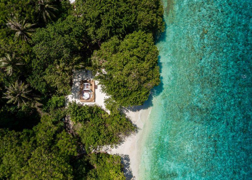Amilla Fushi Luxury Resort and Residences - Baa Atoll, Maldives - Private Glamping Pod