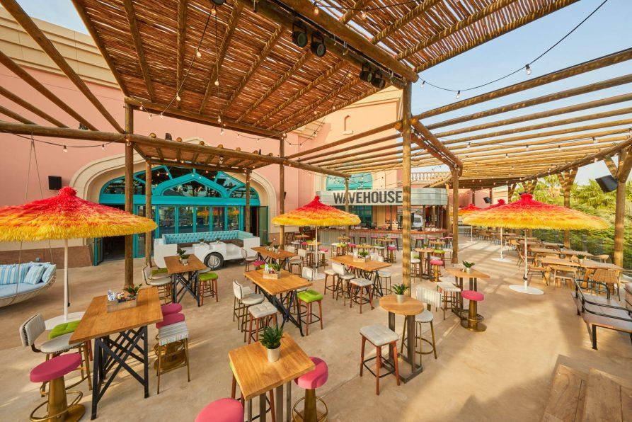 Atlantis The Palm Luxury Resort - Crescent Rd, Dubai, UAE - Wavehouse Restaurant Patio