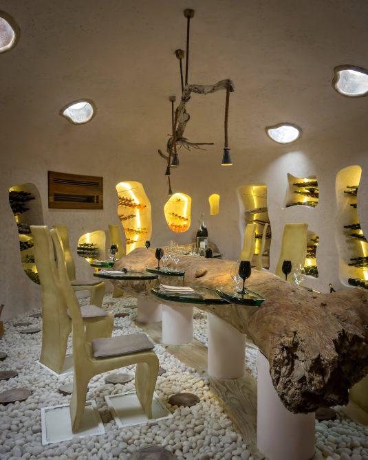 Gili Lankanfushi Luxury Resort - North Male Atoll, Maldives - Underground Wine Cellar Dining