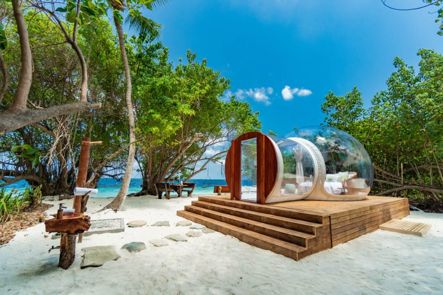 Amilla Fushi Luxury Resort and Residences - Baa Atoll, Maldives - Private Beachfront Glamping Pod