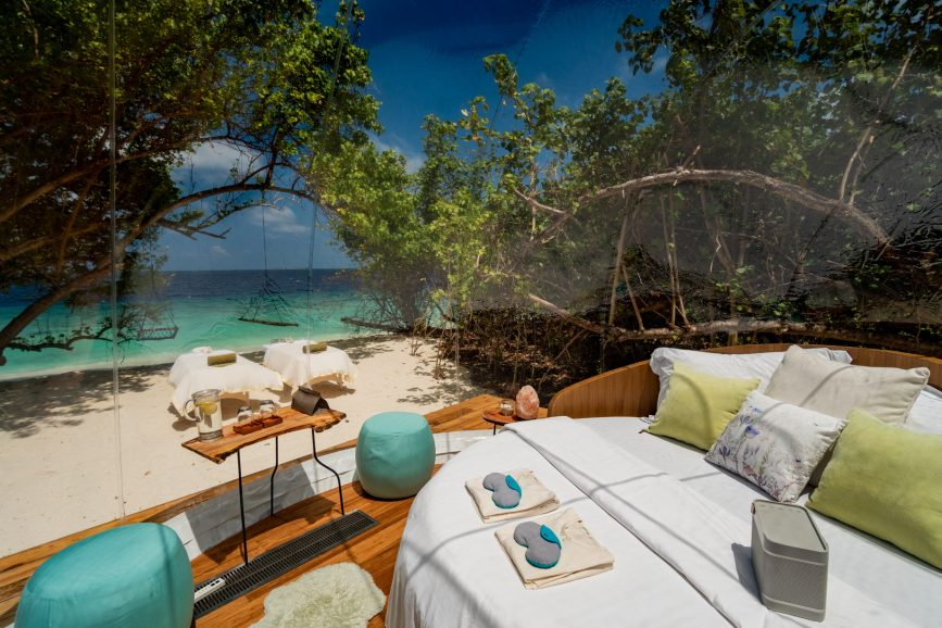 Amilla Fushi Luxury Resort and Residences - Baa Atoll, Maldives - Private Beachfront Luxury Glamping