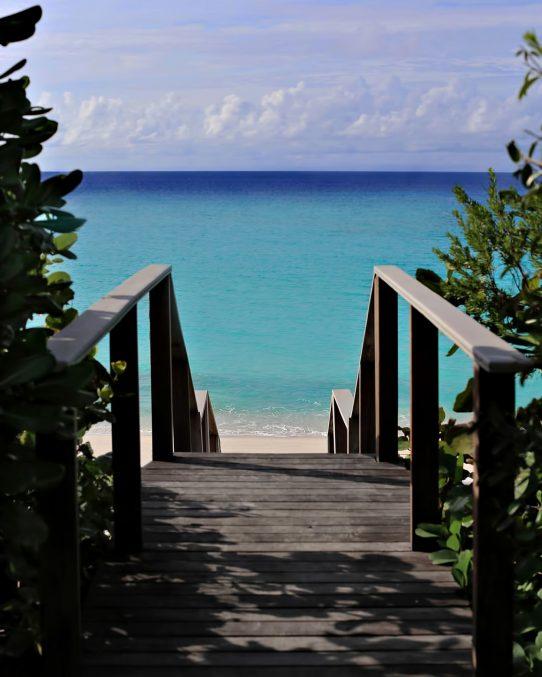 Amanyara Luxury Resort - Providenciales, Turks and Caicos Islands - Beach Steps