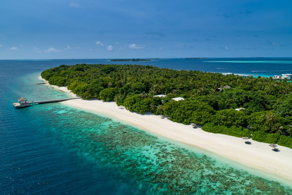 Amilla Fushi Luxury Resort and Residences - Baa Atoll, Maldives - Private Island Aerial