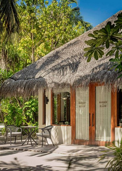 One&Only Reethi Rah Luxury Resort - North Male Atoll, Maldives - Barber and Blade Exterior