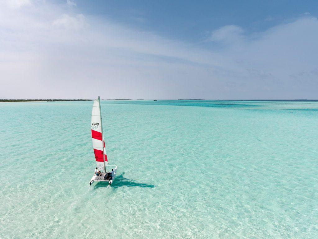Soneva Jani Luxury Resort - Noonu Atoll, Medhufaru, Maldives - Tropical Ocean Water Sailing