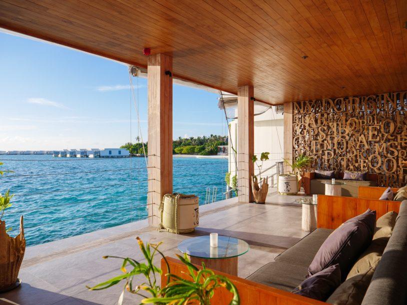 Amilla Fushi Luxury Resort and Residences - Baa Atoll, Maldives - Oceanfront OAK Lounge