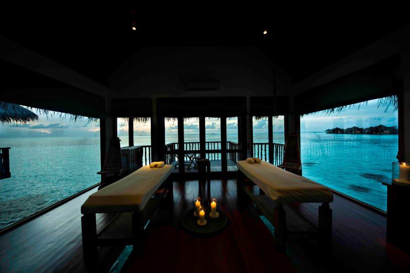Gili Lankanfushi Luxury Resort - North Male Atoll, Maldives - Overwater Spa Dusk