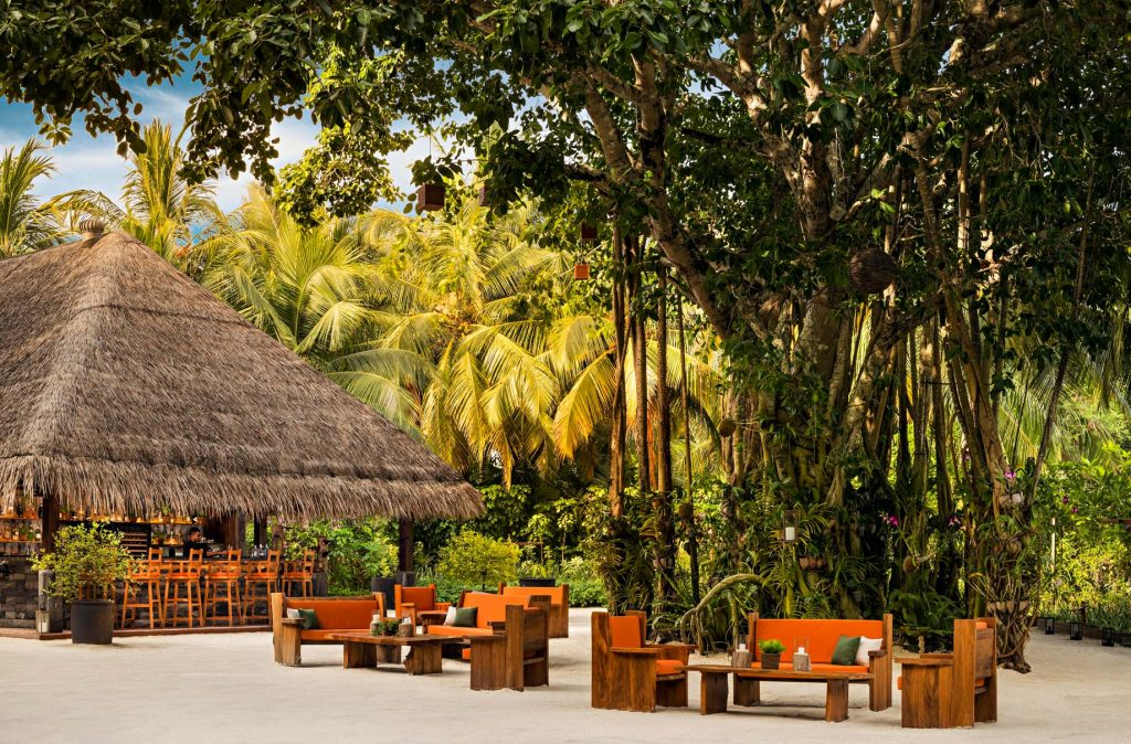 One&Only Reethi Rah Luxury Resort - North Male Atoll, Maldives - Botanica Restaurant Sacred Tree Bar