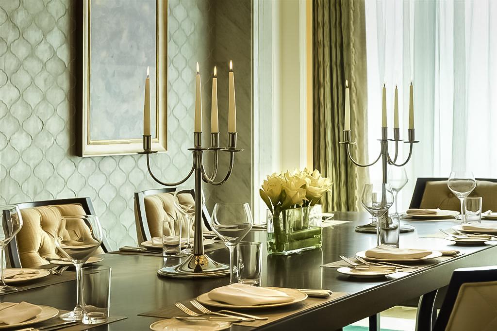 The St. Regis Abu Dhabi Luxury Hotel – Abu Dhabi, United Arab Emirates – Al Manhal Suite Dining Room