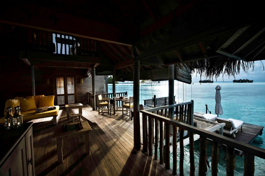 Gili Lankanfushi Luxury Resort - North Male Atoll, Maldives - Overwater Villa Dusk
