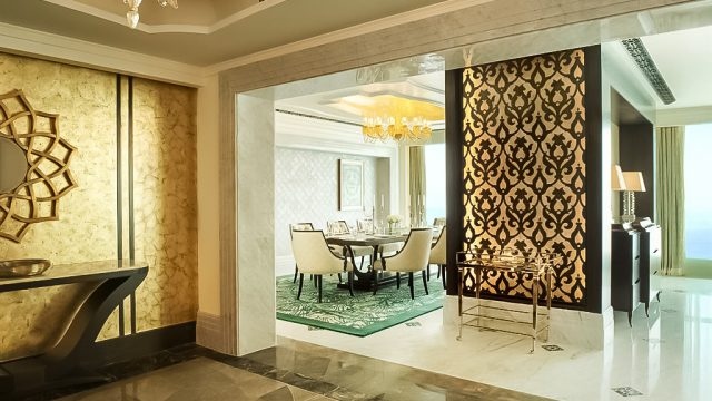 The St. Regis Abu Dhabi Luxury Hotel - Abu Dhabi, United Arab Emirates - Al Manhal Suite Entrance Hall