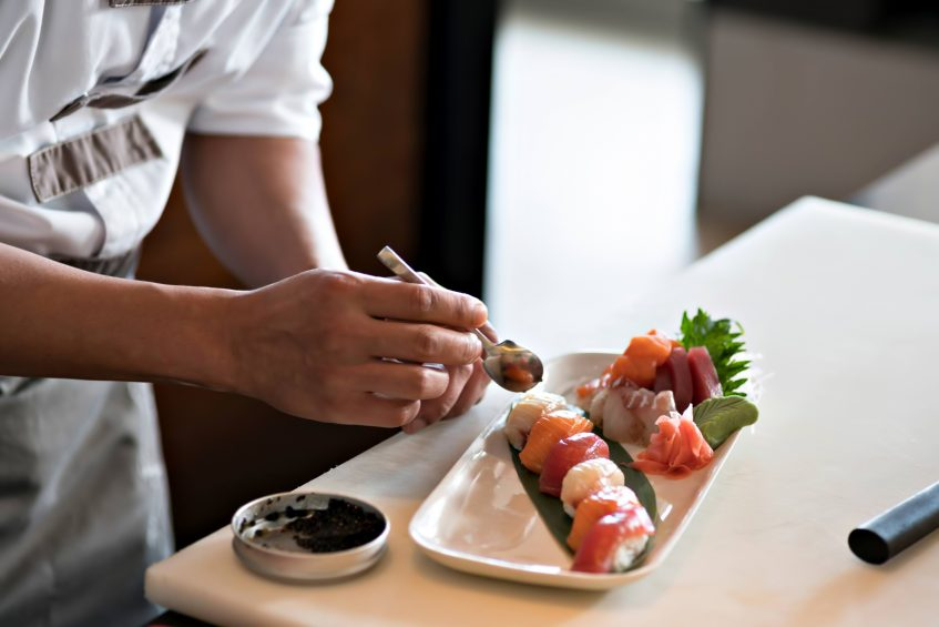 Cheval Blanc Randheli Luxury Resort - Noonu Atoll, Maldives - Culinary Dining Arts Sushi Chef