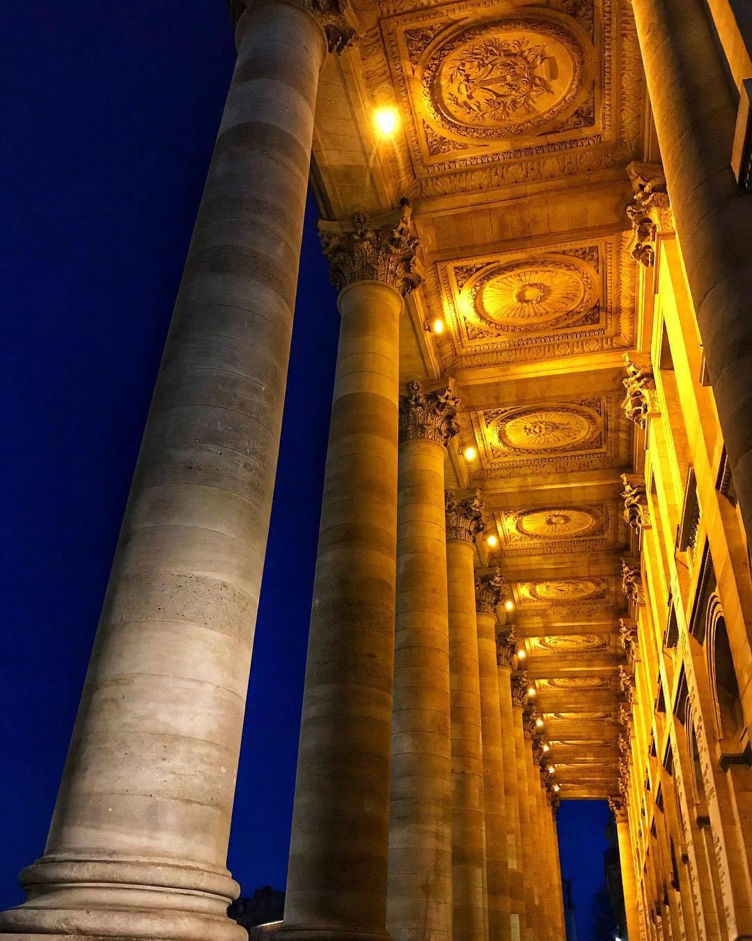 InterContinental Bordeaux Le Grand Hotel - Bordeaux, France - Night Architecture