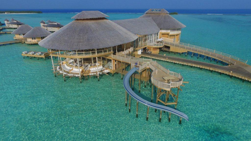 Soneva Jani Luxury Resort - Noonu Atoll, Medhufaru, Maldives - The Gathering Aerial