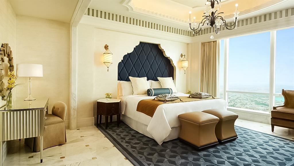 The St. Regis Abu Dhabi Luxury Hotel – Abu Dhabi, United Arab Emirates – Al Mushref Suite Bedroom