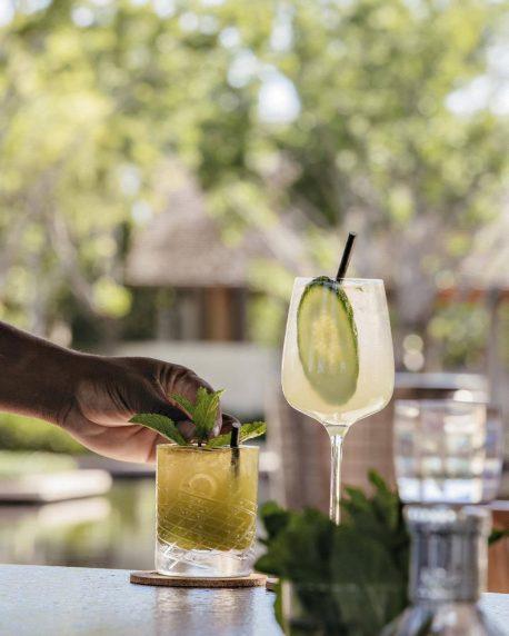 Amanyara Luxury Resort - Providenciales, Turks and Caicos Islands - Refreshing Cocktails