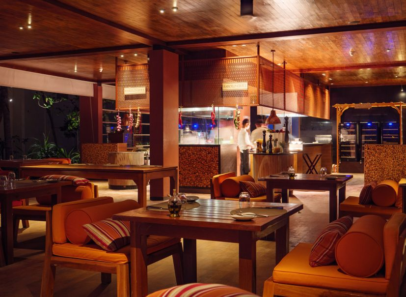 Amilla Fushi Luxury Resort and Residences - Baa Atoll, Maldives - Barolo Grill Restaurant Night