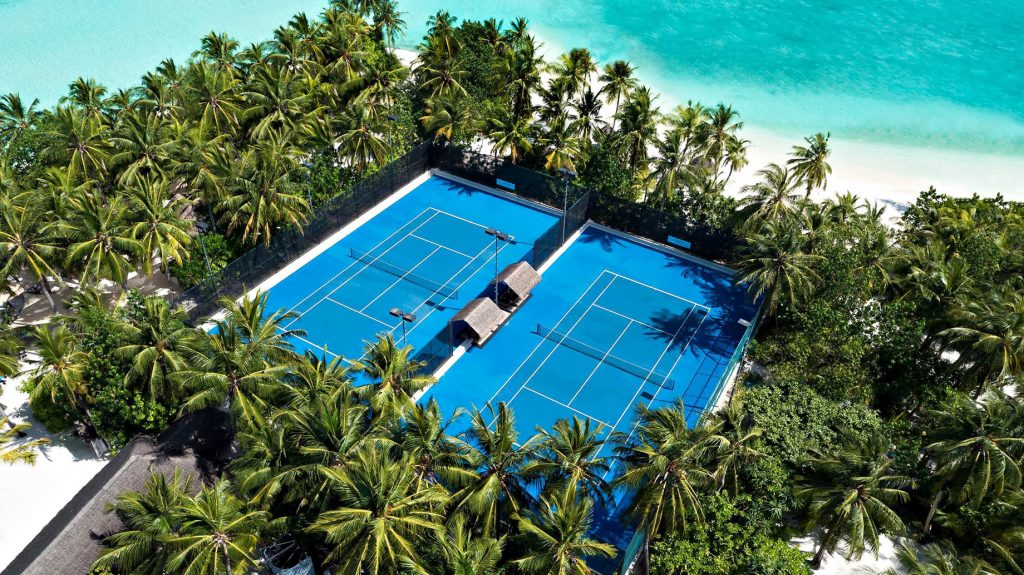 One&Only Reethi Rah Luxury Resort - North Male Atoll, Maldives - Club One Tennis Courts