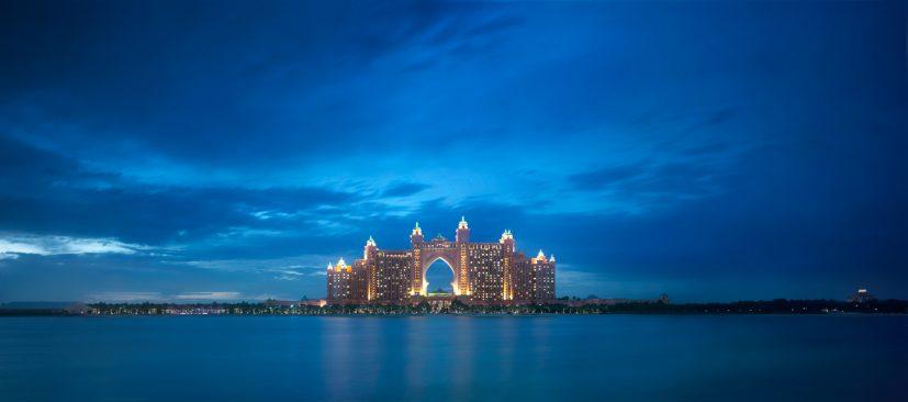 Atlantis The Palm Luxury Resort - Crescent Rd, Dubai, UAE - Oceanview Twilight