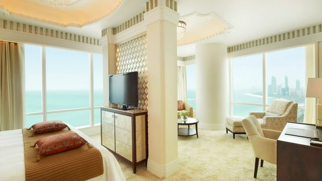 The St. Regis Abu Dhabi Luxury Hotel - Abu Dhabi, United Arab Emirates - Luxury Suite Bedroom