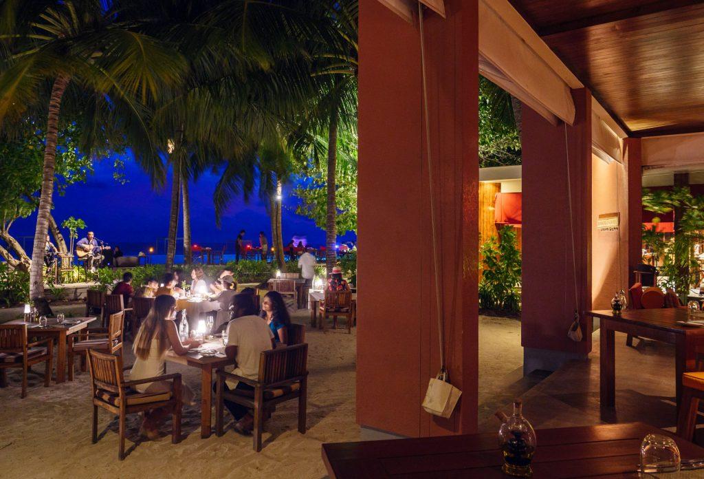 Amilla Fushi Luxury Resort and Residences - Baa Atoll, Maldives - Barolo Grill Restaurant Evening Dining