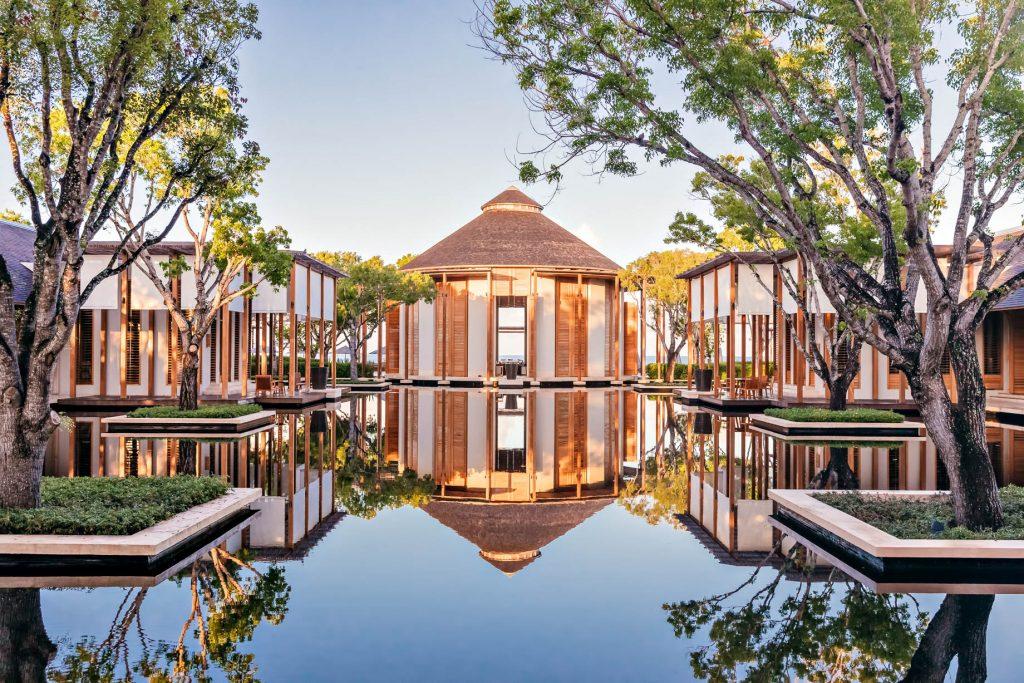Amanyara Luxury Resort - Providenciales, Turks and Caicos Islands - Distinctive Tropical Architecture