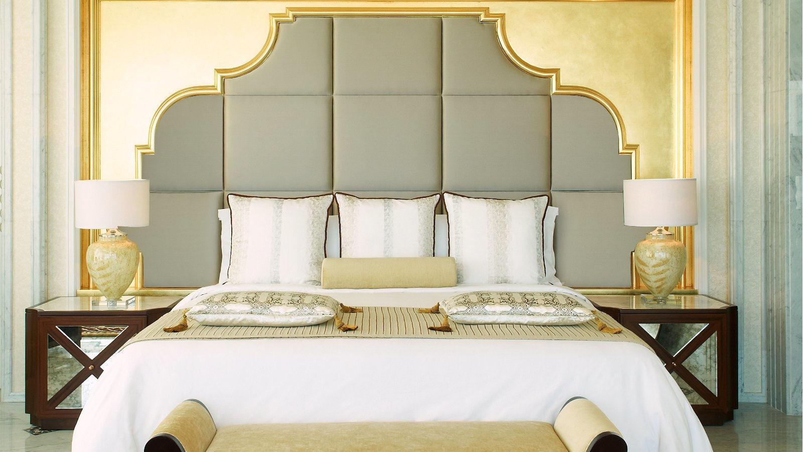 The St. Regis Abu Dhabi Luxury Hotel – Abu Dhabi, United Arab Emirates – Al Hosen Suite Bedroom