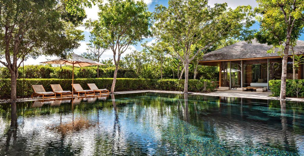 Amanyara Luxury Resort - Providenciales, Turks and Caicos Islands - Poolside Tropical Luxury