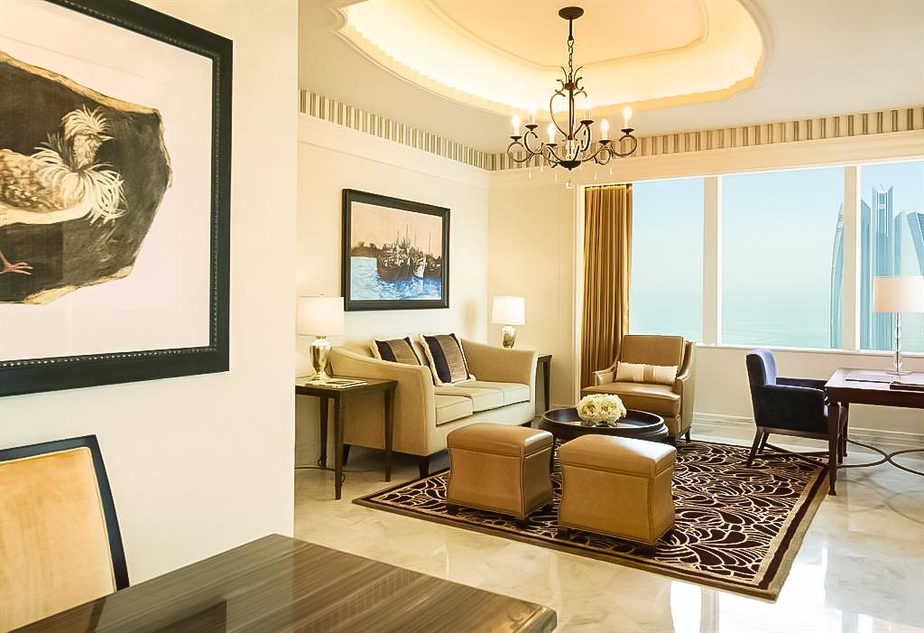 The St. Regis Abu Dhabi Luxury Hotel – Abu Dhabi, United Arab Emirates – St. Regis Suite Living Room