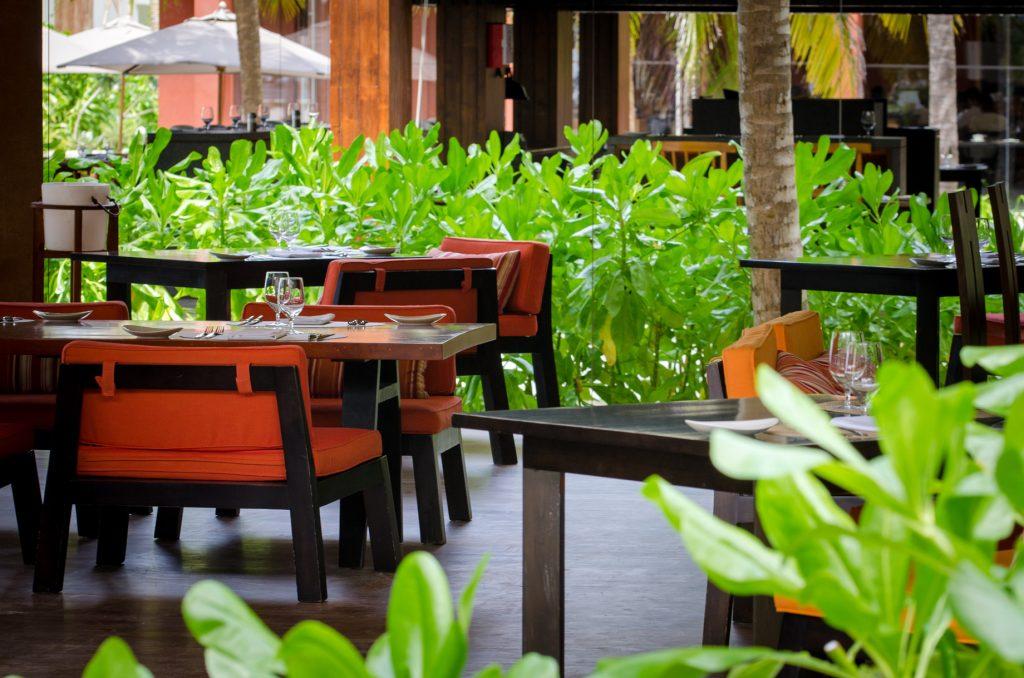 Amilla Fushi Luxury Resort and Residences - Baa Atoll, Maldives - Barolo Grill Restaurant Table Seating