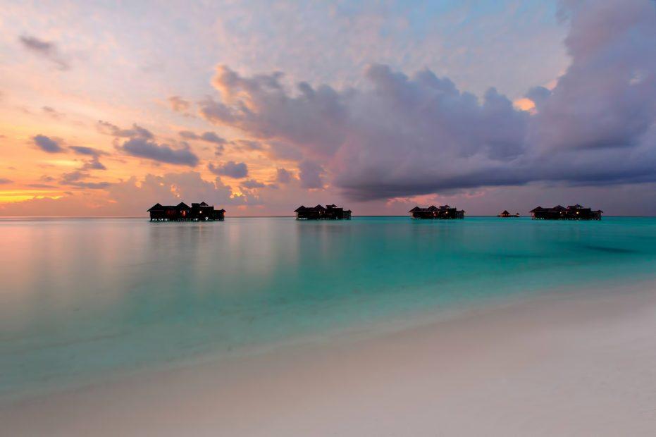 Gili Lankanfushi Luxury Resort - North Male Atoll, Maldives - Overwater Villa Jetty Sunset