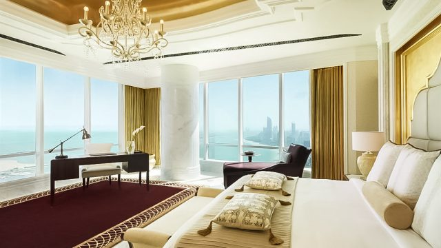 The St. Regis Abu Dhabi Luxury Hotel - Abu Dhabi, United Arab Emirates - Al Hosen Suite Bedroom