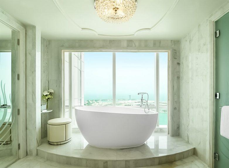 The St. Regis Abu Dhabi Luxury Hotel - Abu Dhabi, United Arab Emirates - Grand Deluxe Suite Bathroom Tub