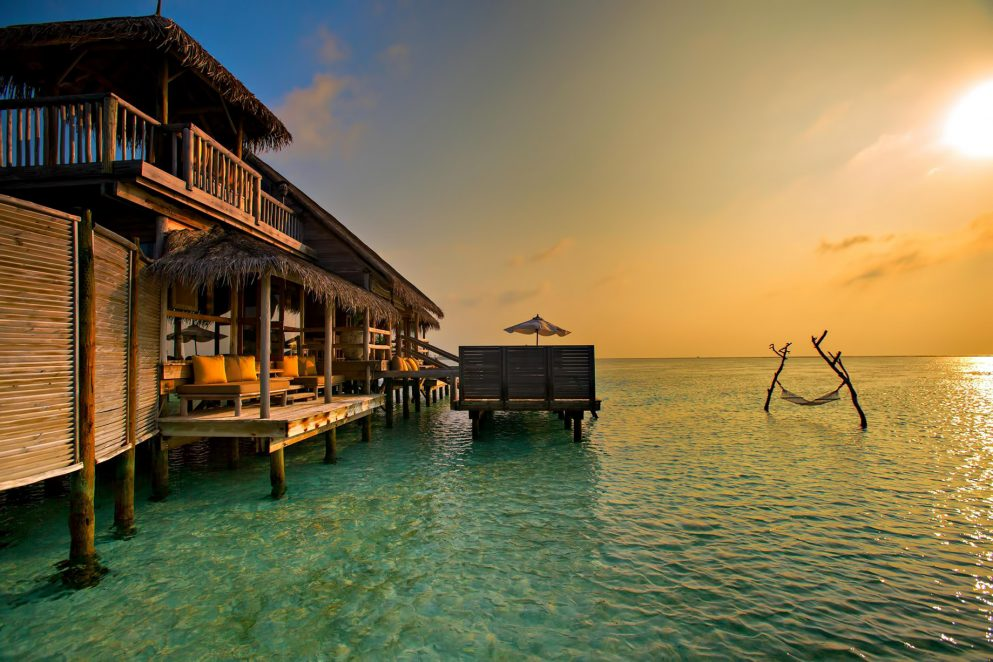 Gili Lankanfushi Luxury Resort - North Male Atoll, Maldives - Overwater Villa Sunset