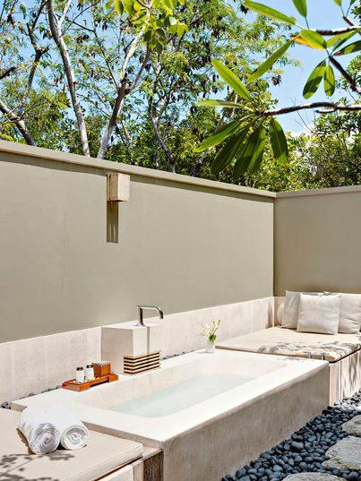 Amanyara Luxury Resort - Providenciales, Turks and Caicos Islands - Outside Bath