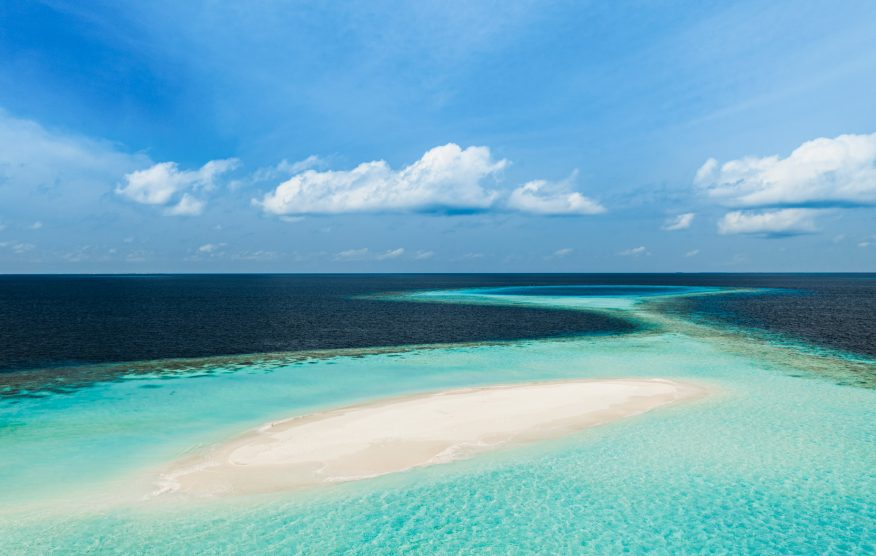 One&Only Reethi Rah Luxury Resort - North Male Atoll, Maldives - Tropical Beach Sandbank