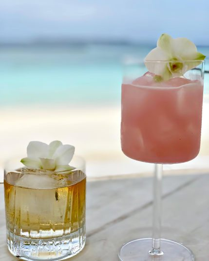 Cheval Blanc Randheli Luxury Resort - Noonu Atoll, Maldives - Private Island Beachfront Beverages