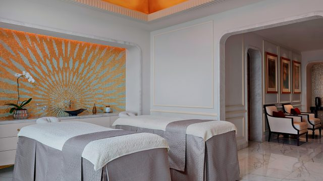 The St. Regis Abu Dhabi Luxury Hotel - Abu Dhabi, United Arab Emirates - Remede Spa Couples Massage Room