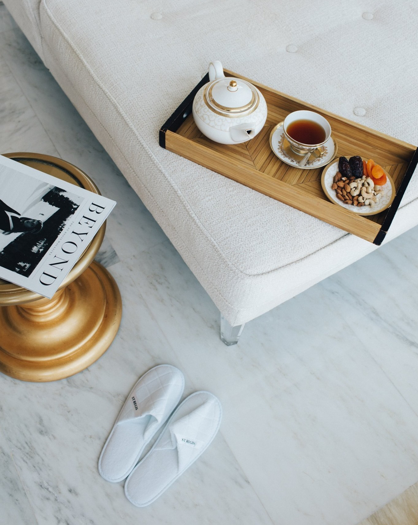 The St. Regis Abu Dhabi Luxury Hotel – Abu Dhabi, United Arab Emirates – Remede Spa Lounge