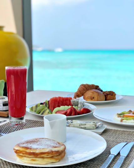 Cheval Blanc Randheli Luxury Resort - Noonu Atoll, Maldives - Private Island Breakfast Ocean View