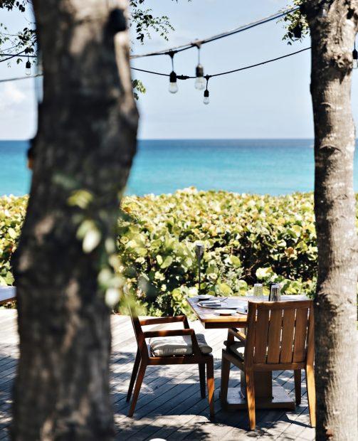 Amanyara Luxury Resort - Providenciales, Turks and Caicos Islands - Dining Simplicity