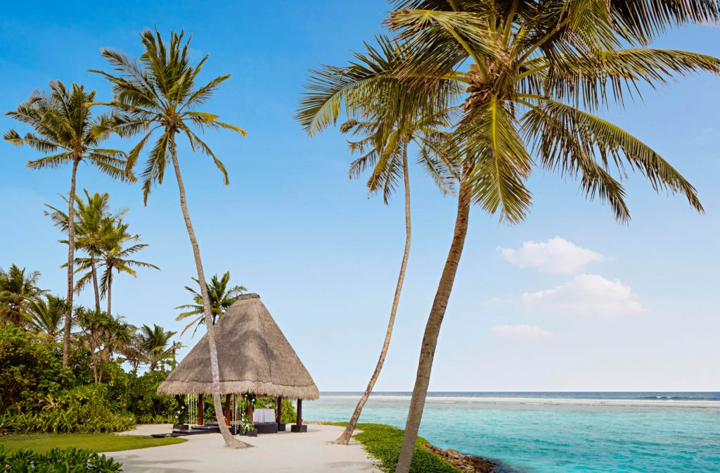 One&Only Reethi Rah Luxury Resort - North Male Atoll, Maldives - Resort Wedding Hut