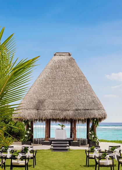 One&Only Reethi Rah Luxury Resort - North Male Atoll, Maldives - Resort Wedding Day