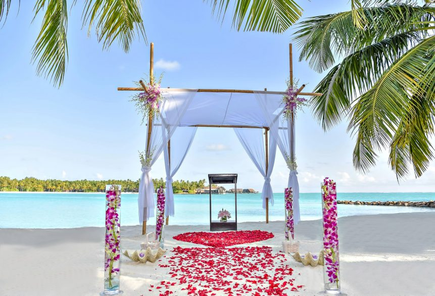 One&Only Reethi Rah Luxury Resort - North Male Atoll, Maldives - Resort Beach Wedding