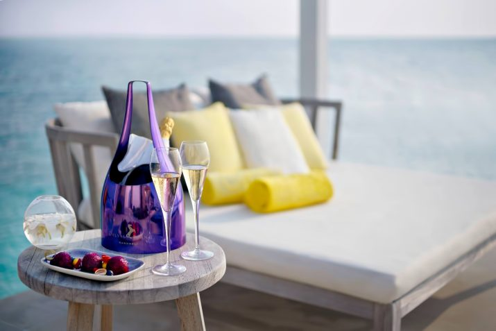 Cheval Blanc Randheli Luxury Resort - Noonu Atoll, Maldives - Private Island Champagne and Fruit