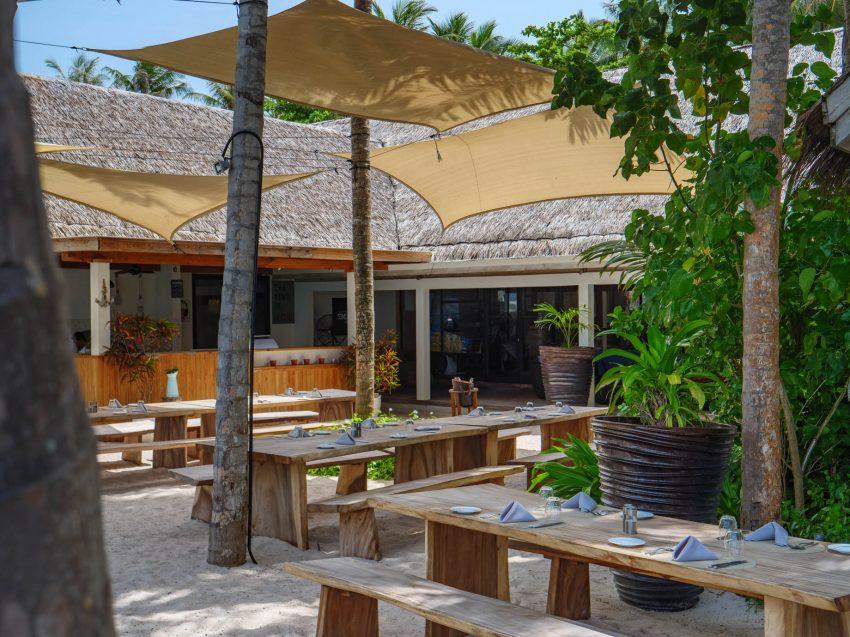 Amilla Fushi Luxury Resort and Residences - Baa Atoll, Maldives - Emperor Beach Club Restaurant